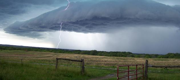 Rige un alerta por lluvias y tormentas fuertes en gran parte del país