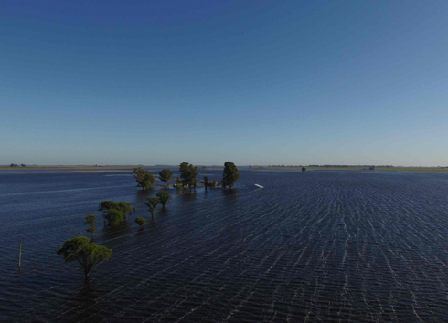Renuevan el alerta máxima en General Villegas por las inundaciones