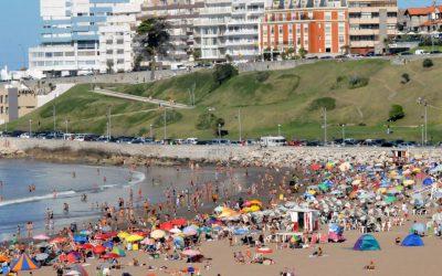 Mar del Plata recibió 620 mil turistas la primera quincena de enero