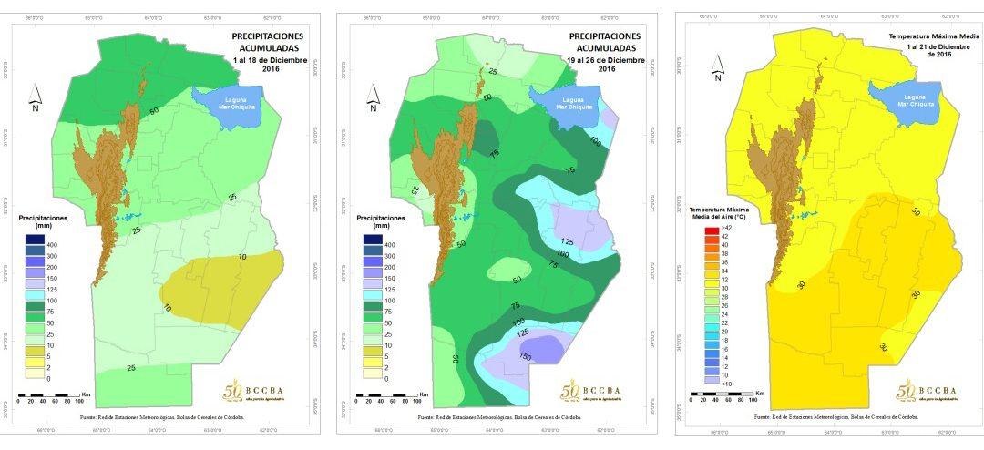 En Córdoba falta agua pero los cultivos aguantan