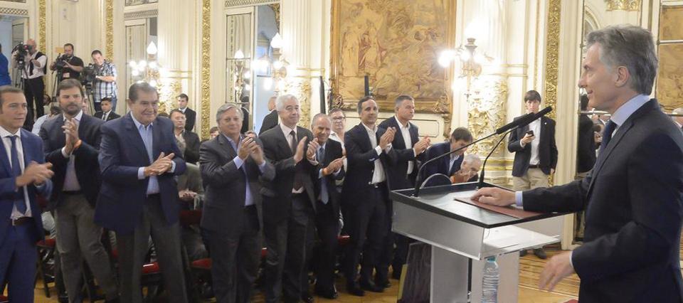 Macri prometió una revolución de empleo por Vaca Muerta