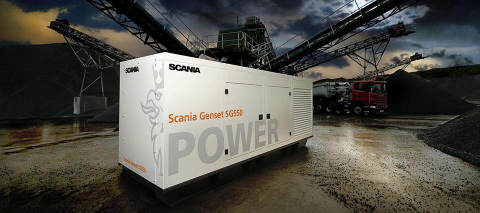Scania Genset SG500.Belfast, IrelandPhoto: Bryan Winstanley 2010