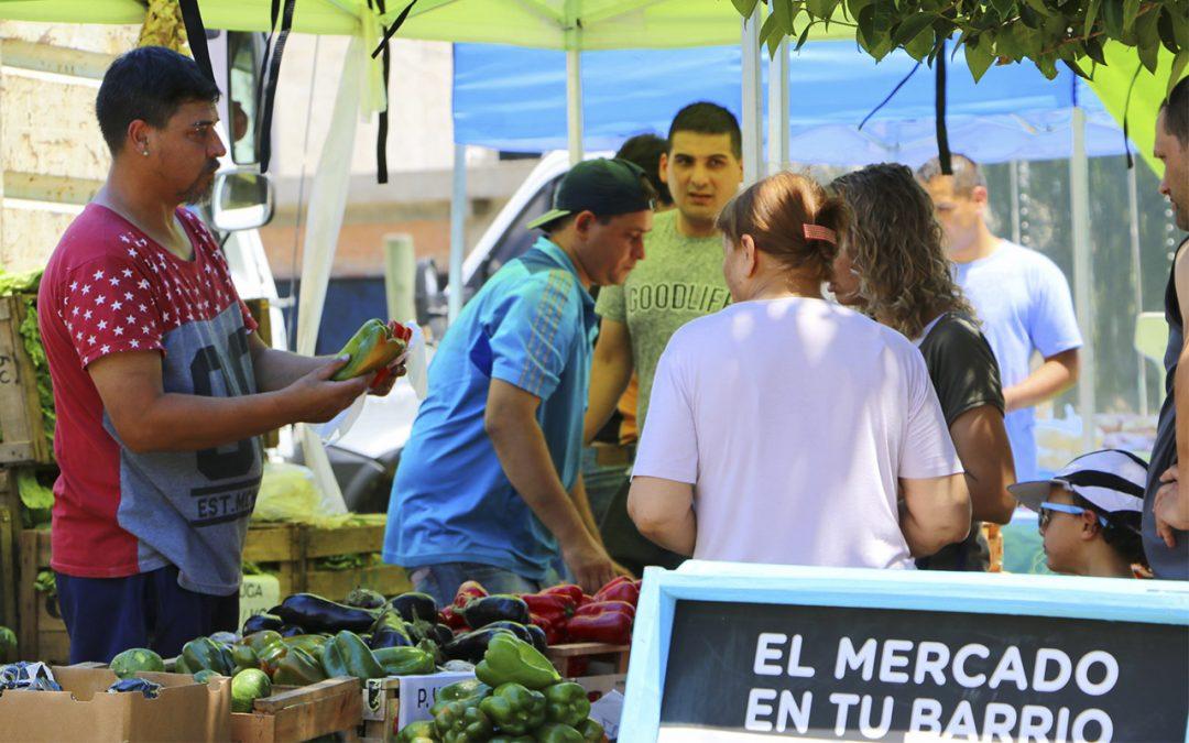 El Mercado en tu Barrio sale de la provincia de Buenos Aires y llega a Santa Fe