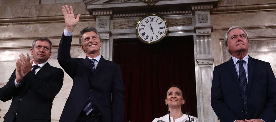 """Macri en el Congreso: """"Los productores respondieron con inversión y crecimiento"""""""