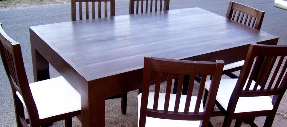 El INTI logró crear muebles resistentes al agua a partir de un adhesivo de soja