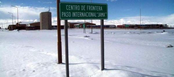 Por la nieve, continuará cerrado el Paso de Jama en Jujuy