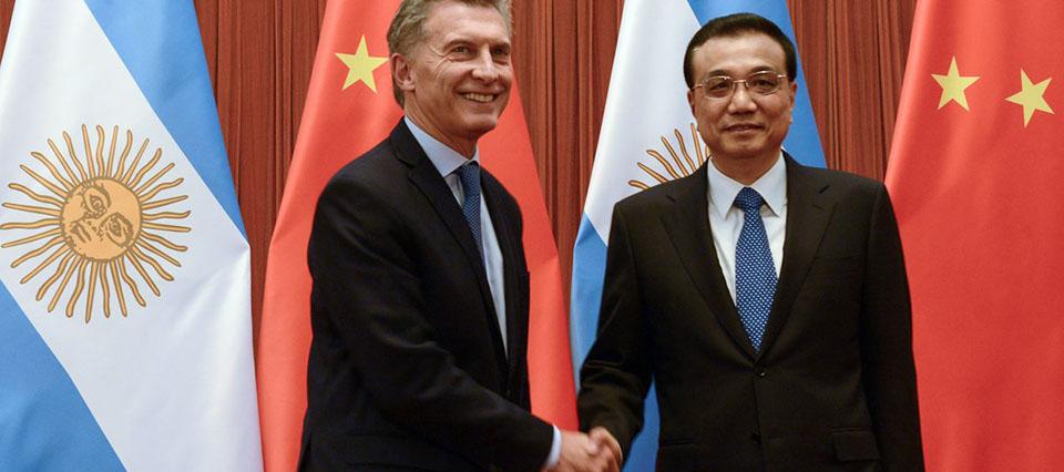 Macri y Li Keqiang primer ministro de China 960