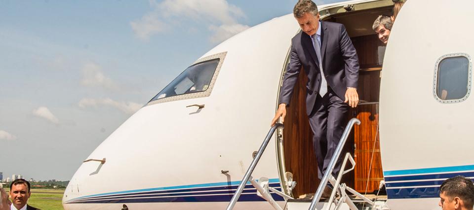 Macri inicia una gira por Emiratos, China y Japón con acento en los agronegocios