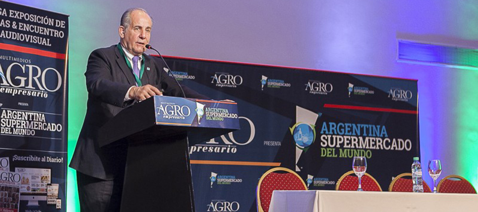 """Dillon: """"Argentina exporta productos inocuos y de calidad a 120 países"""""""