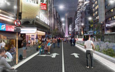 La avenida Corrientes será peatonal entre Callao y Libertad