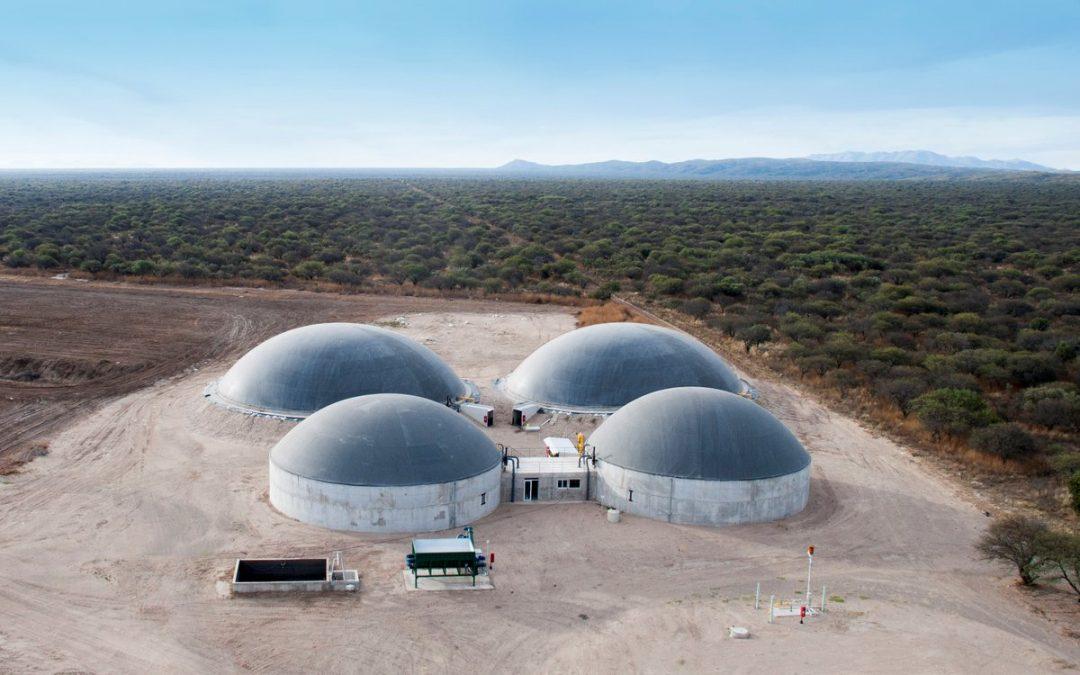 La segunda planta de biogás comenzó a entregar energía al sistema interconectado nacional