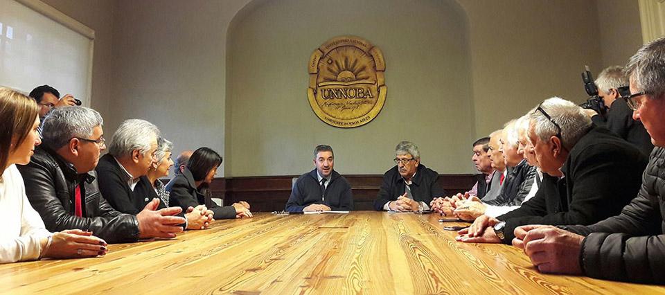 Renatre firmó convenio de cooperación con UNNOBA