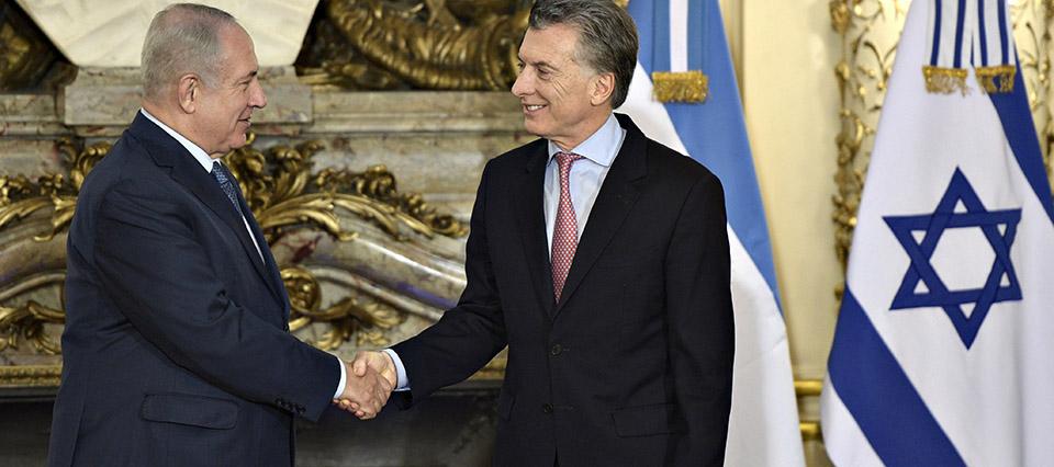 """Macri y Netanyahu reforzarán """"vínculos comerciales con el foco en las pymes"""""""