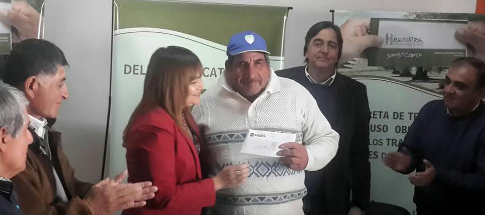 Renatre informó a trabajadores rurales sobre trámites jubilatorios en Catamarca