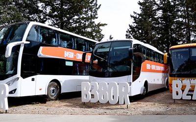 Volvo demostró en Mendoza todo el confort y seguridad de sus chasis para buses