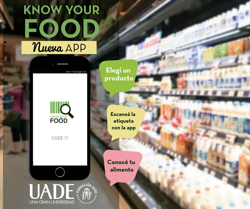app know your food uade