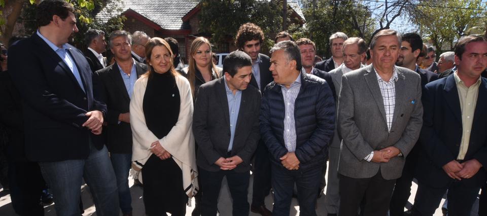 Invierten más de $181 millones en el acueducto Bowen-Canalejas en Mendoza