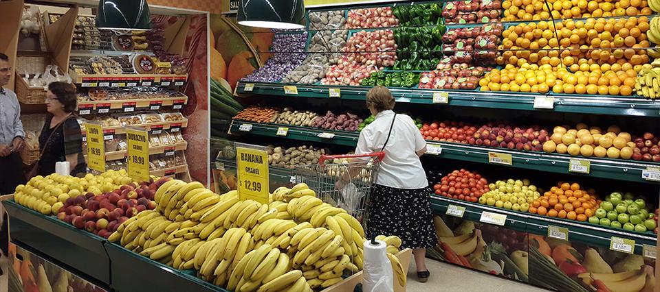 verduras frutas supermercado