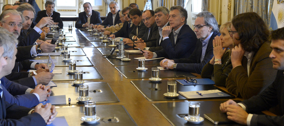 Macri y la Mesa de Pesca acordaron avanzar en la ampliación del puerto de Mar del Plata