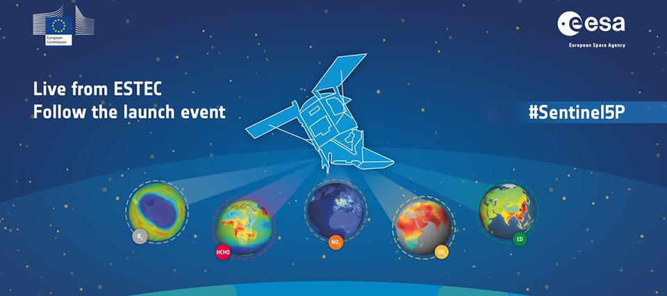 Lanzan un satélite que vigilará la contaminación del planeta