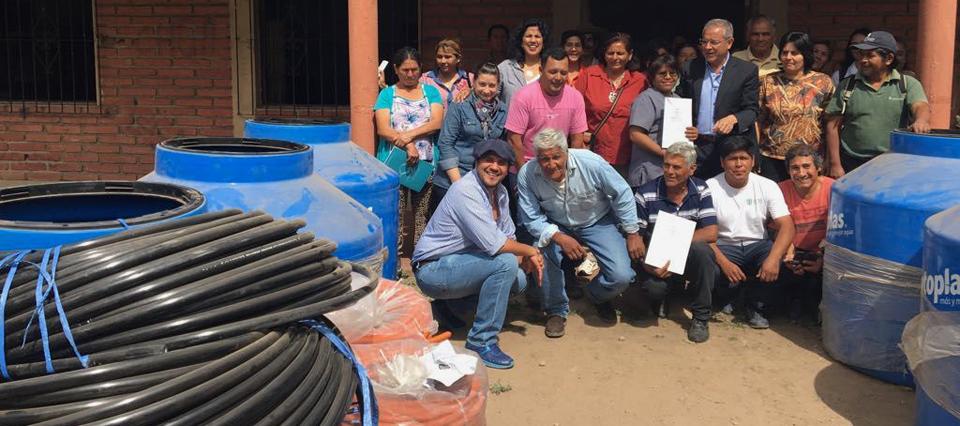 Entregan recursos por más de $1 millón para la construcción de criaderos porcinos en Jujuy
