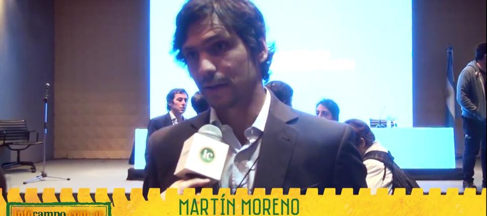 Martin Moreno Ministerio de Agroindustria Infocampo