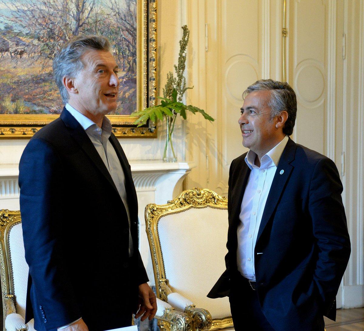 Cornejo y Macri 091117