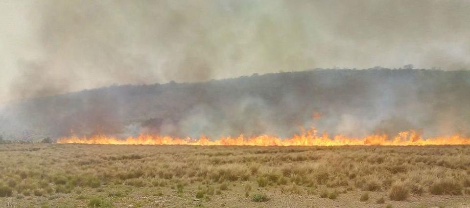 Guasapampa incendio nov 2017