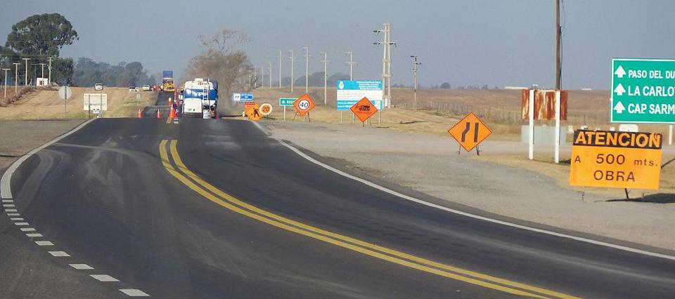 Inundaciones: cortarán las Ruta Nacional 8 durante dos meses por obras