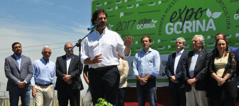 """Sarquís: """"Queremos que Buenos Aires pueda exportar 200 M/u$s de productos frescos"""""""