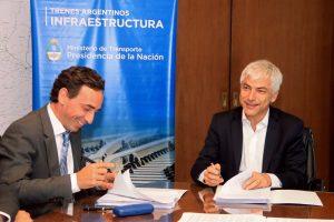 1. Firma del contrato entre Guillermo Fiad y Franco Comparato