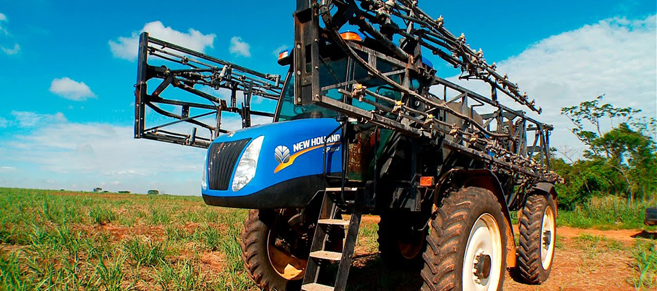 pulverizadora new holland 960