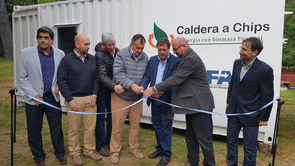 CIEFAP inauguracion caldera