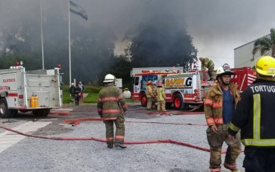 Comunicado de DSM tras el incendio de su fábrica en Tortuguitas