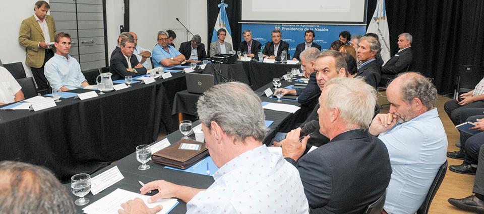Entidades del agro y del Gobierno conformaron la Mesa de Competitividad del Trigo