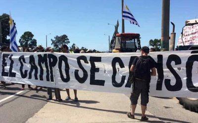 protesta campo uruguay