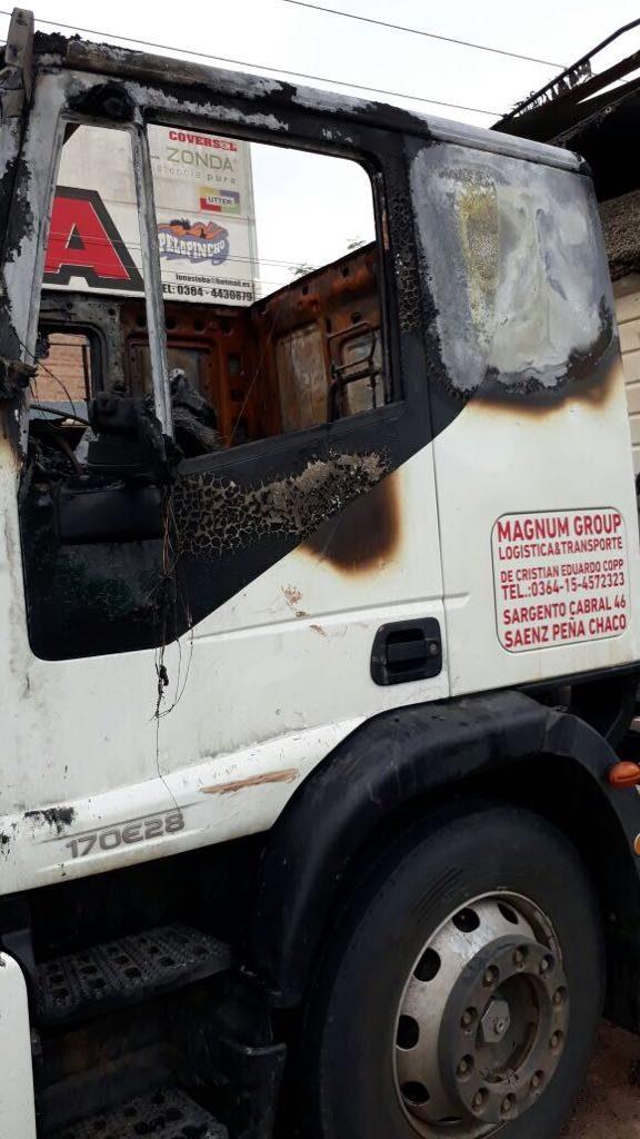 camion ataque