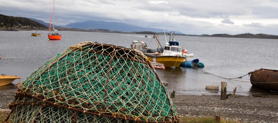 Comienza la construcción de dos muelles en Tierra del Fuego para potenciar la pesca