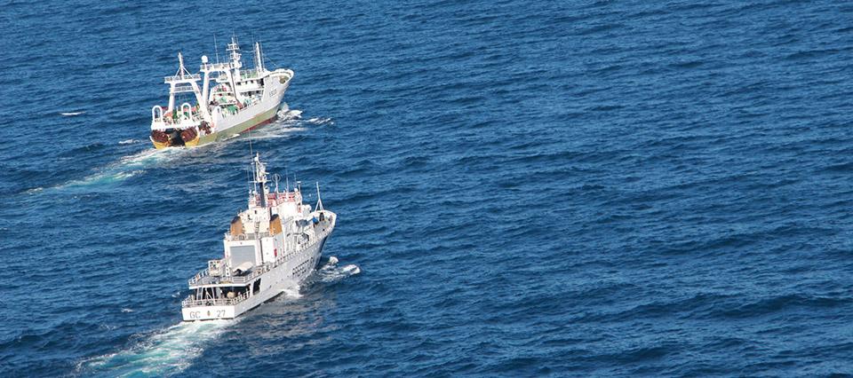 persecusion buque 960