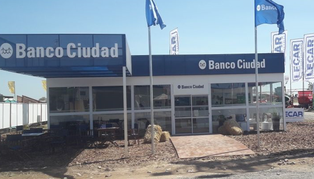 Expoagro Stands : Infocampo el banco ciudad también dijo presente en expoagro