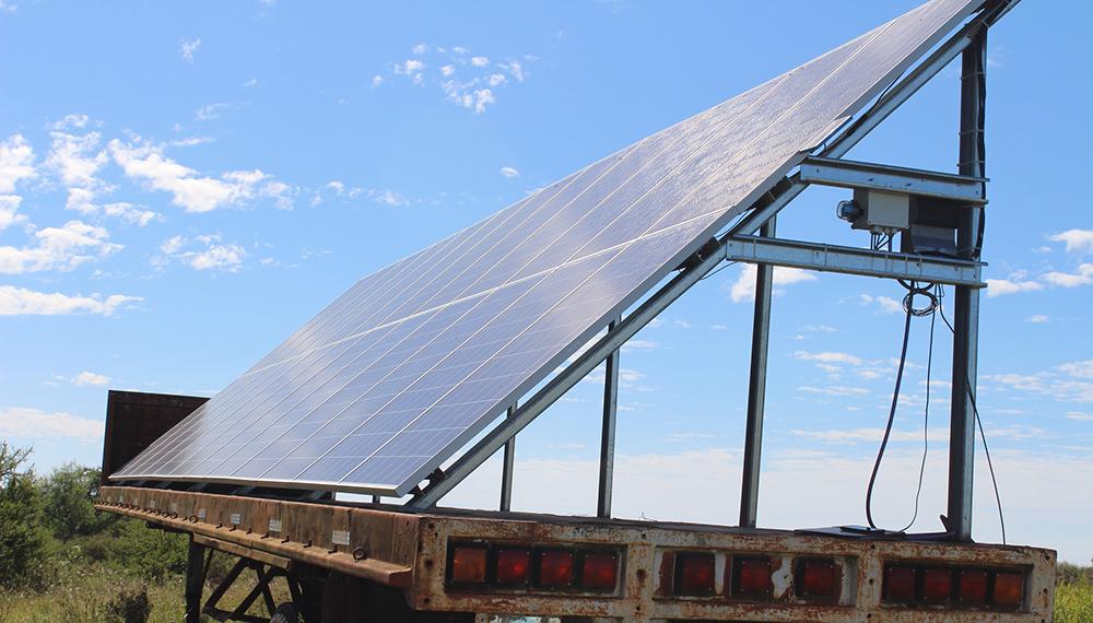 Producen energía para riego con paneles fotovoltaicos
