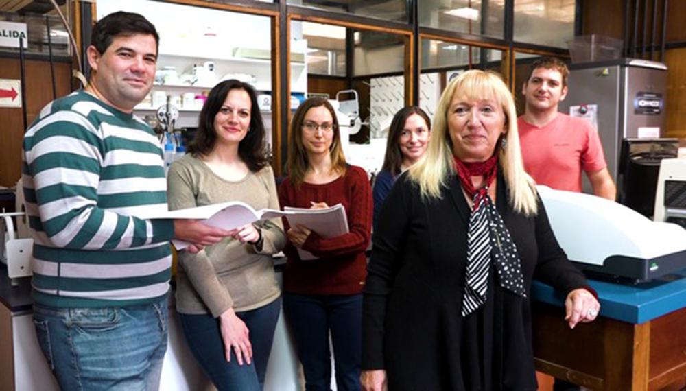 El equipo de científicos que comandó Pilosof