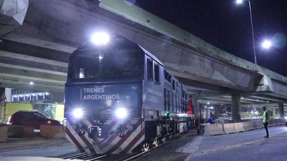 Resultado de imagen para Con vino para exportar, el San Martín Cargas volvió al Puerto de Buenos Aires