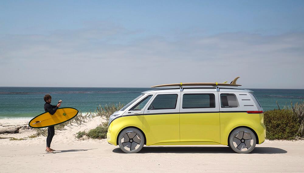Verano 2020 playa camioneta Volkswagen