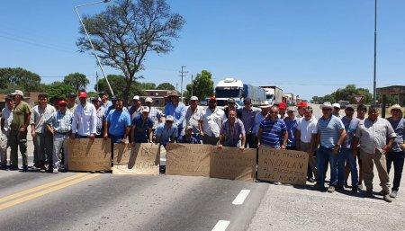 Protestas en Rutas Infocampo