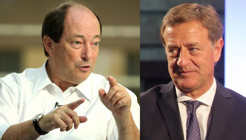Ernesto Sanz y Rodolfo Suárez