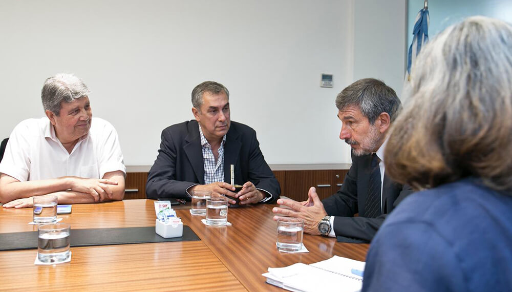 Coviar: el presidente Angel Leotta reunido con Ministro de Ciencia, Tecnología e Innovación