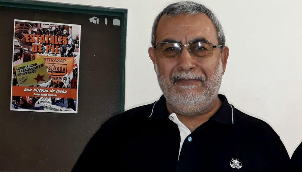 Carlos Ortellado, integrante de la Agrupación La Pampa Libre de Agrotóxicos