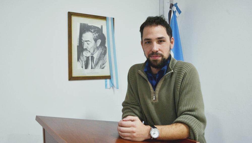Joaquín Cochero, investigador del Conicet, que trabajo en la depuración del agua con residuos orgánicos.