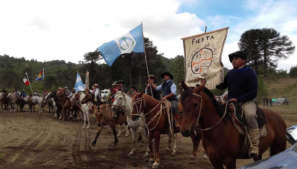 Mapuches a caballo